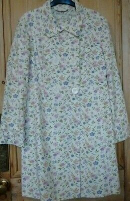 BNWT/NEW JOULES SIZE 18 Floral Cotton Coat * Wedding Occasion