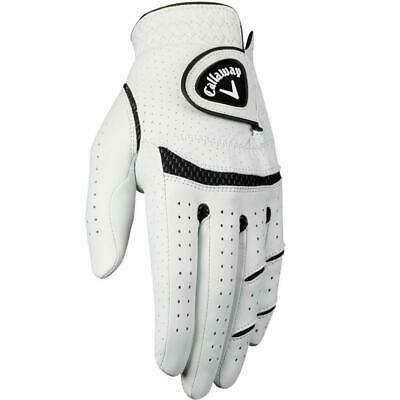 Now On Sale!! Callaway Golf Mens Apex Tour Leather X-Spann Golf Gloves Left Hand