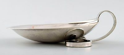 Hans Hansen, Kolding. Bowl of sterling silver. Made in 1963.