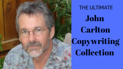 John Carlton - 9 Courses Valued at over $10,000 - Yours for $20 Only!