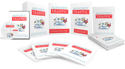 Authority Traffic Ebook and Videos on CD Great Resource on Traffic Generation