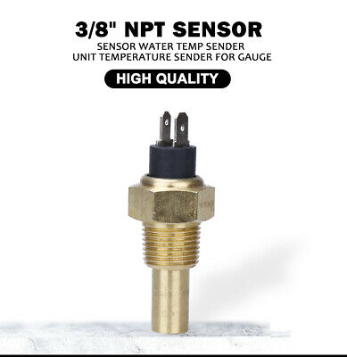 1/2 NPT TEMP Sender Sensor for Oil Water Gauge VDO Temperature