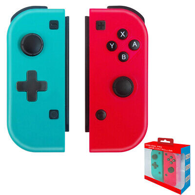 Nintendo Switch JoyCon (L/R) Wireless Controllers Pair Mario New 3rd party