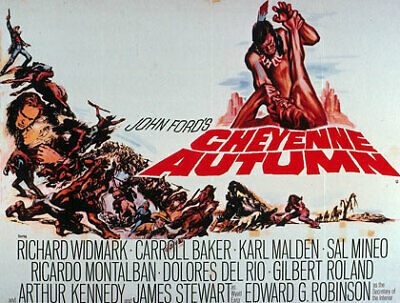 Cheyenne Autumn    .  BLU-RAY LIMITED 70mm wide  Rare in Bluray HD  side by side