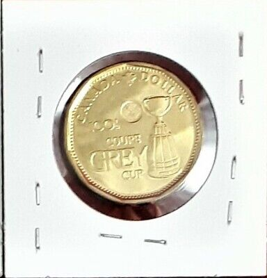 "2012 Canada $1 Dollar - ""100th Grey Cup"" Variety - BU"