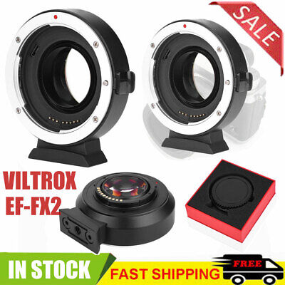 VILTROX EF-FX2 0.71x Auto Focus Mount Adapter for Canon EF/EF-S Lens to FUJIFILM