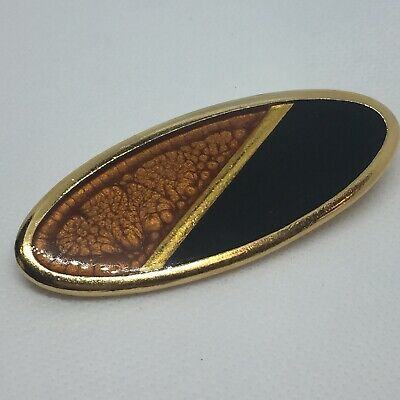 4d8358a209b VINTAGE YVES SAINT Laurent Ysl Paris Signed North Star Pin Brooch ...