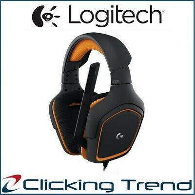 Gaming Headset Logitech G231 Prodigy Stereo Headphone USB Wired HD Audio