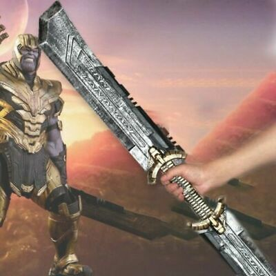 Thanos Double-Edged Sword Cosplay Props Avengers 4 Endgame Figue Fans Gift Hot