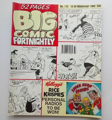 Big Comic Fortnightly 12-25 September 1992 Number 112 Collectable  Kids Comic *