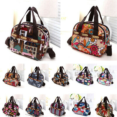 New Women's Canvas Handbag Shoulder Messenger Bag Satchel Tote Purse Bags