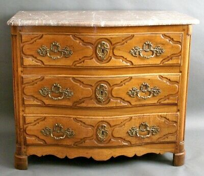 A 19th Century Continental Walnut Commode