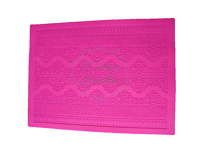 Silicone Fondant Cake Lace Mat Mould for Cake Decoration