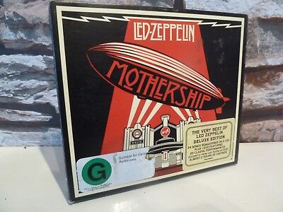 Led Zeppelin Mothership Deluxe Cd / Dvd Set. - Fast/Free Posting