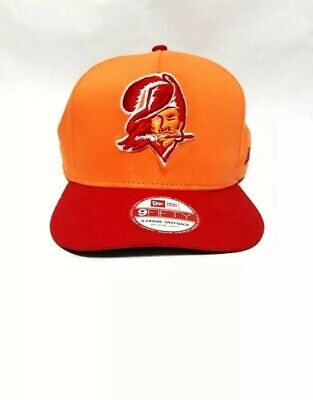 timeless design 98668 62975 Tampa Bay Buccaneers New Era 9FIFTY NFL Throwback Historic Snapback Hat Cap  EUC
