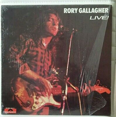 "Rory Gallagher - Live - 12"" vinyl LP Polydor PD 5513 US 1972 1st 1A 1A press"