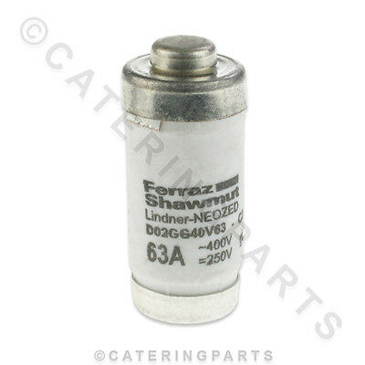 RATIONAL 3019.0405 CLASSIC COMBINATION OVEN 63A FUSE 36x15mm FAGOR FRIMA METOS