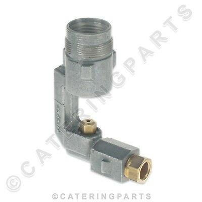 Falcon 535130111 Venturi Burner Injector Holder With Jet Nat Gas Convection Oven