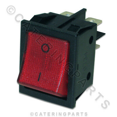 Lincat Red Illuminated Rocker Power Switch On Off Oven Toaster Pedestal Grill