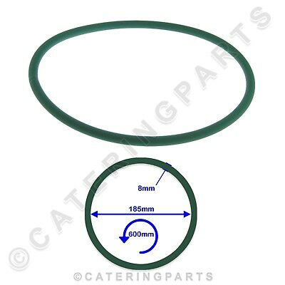 PIZZA GROUP 5070090 8mm DRIVE BELT FOR DOUGH ROLLER STRETCHER 185mm DIAMETER