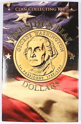 2007-2016 Presidential Dollar Coin Collecting Kit w/ President Information Book