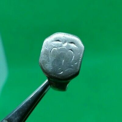 LATE MEDIEVAL DECORATED SILVER RING - COMPLETE! - 18,5 mm inner diameter