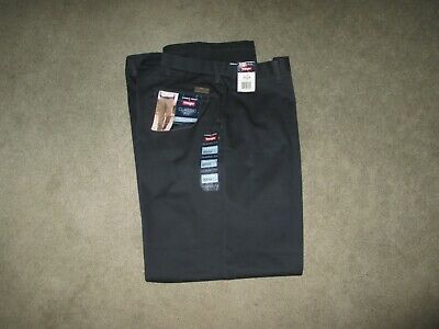ebd73766 Timber Creek by WRANGLER Men's Navy Blue Classic Fit PLEATED Pants 38 ...