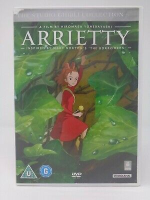 Arrietty The Studio Ghibli Collection DVD