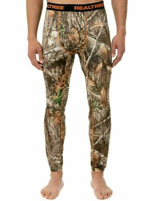 359d8544afd21 NWT Mens REALTREE Edge CAMO Lightweight Base Layer Scent Reduction S or M