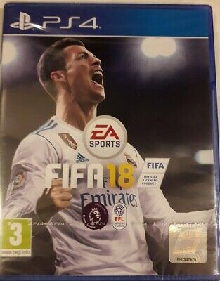 99 to sell FIFA18 PS4 PlayStation 4 Football Game EA Sports Brand New & Sealed