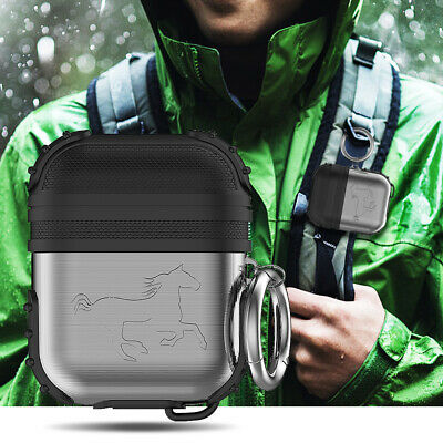 Shockproof Silicone For Apple Airpods Earphones Armor Cover Case Skin AirPod