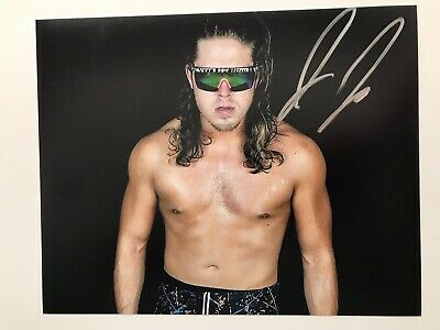 AEW Joey Janela Autographed 8x10 Photo Hand Signed All Elite Wrestling Double Or