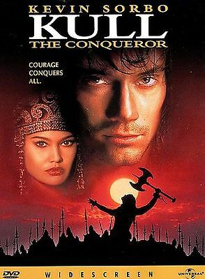 KULL THE CONQUEROR   Kevin Sorbo Tia Carrere (DVD, 1997)   *** free shipping ***