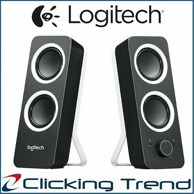 Computer Speakers Logitech Z200 2.0 Compact Rich Stereo Sound 10W Multimedia
