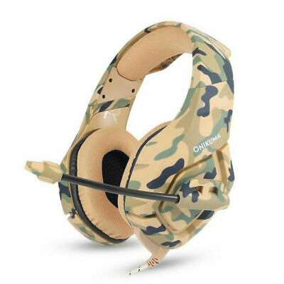 ONIKUMA K1 Mic Stereo Bass Surround Gaming Headset for PC Laptop PS4 Xbox