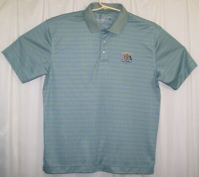 9329baf5 Cutter & Buck Golf Polo Shirt Men's Extra Large XL Green Ryder Cup Valhalla