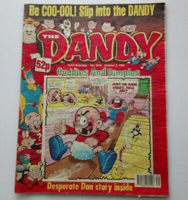 The Dandy 2 October 1999 Collectable Kids Humour Comic Magazine Number 3019 *