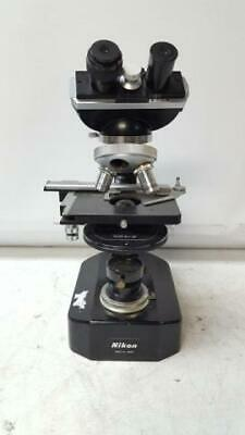 Nikon S Binocular Microscope with Two Objectives