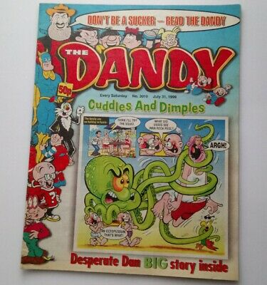 The Dandy 31 July 1999 Collectable Childrens Humour Comic Magazine Number 3010 *