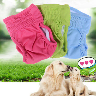 Dog sanitary nappy diaper pet physiological pants shorts underwear for dogs S JR