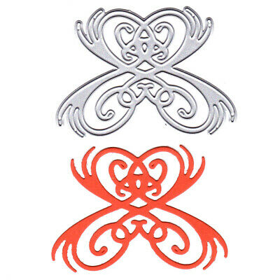 Butterfly Pattern Metal Cutting Dies Stencils for DIY Cards Scrapbooking Decor.