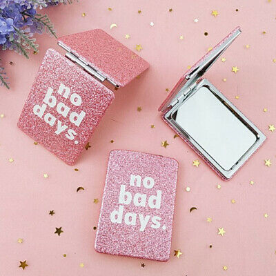 Makeup Compact Mirror Mini Travel Cosmetic Folding Portable Pocket MirrorDouble.
