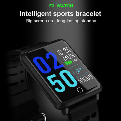 IP68 Smart Watch Heart Rate Monitor Bracelet Wristband for iOS Android Hotsale