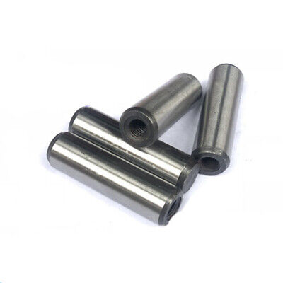 M4 M5 locating pin Internal threaded cylinder pins carbon in steel 8mm-50mm L