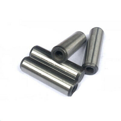M6 locating pin Internal threaded cylinder pins carbon in steel 10mm-60mm L