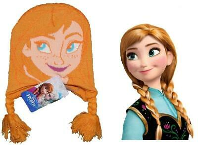 Hat Frozen Princess Anna Plush Beanie Disney Cinema #1