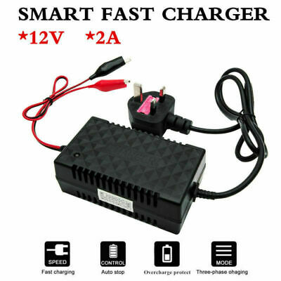 Intelligent 12V Motorcycle Motorbike Battery Charger Automatic Smart Trickle Toy