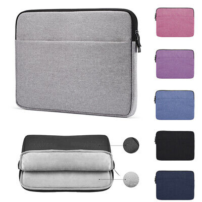 Notebook Cover Sleeve Case Bag Laptop For MacBook Air Pro Lenovo HP Dell Asus