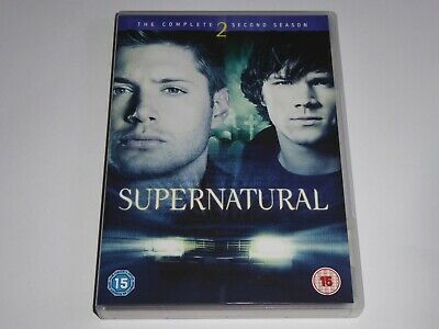 Supernatural - The Complete Second Season 2 - UK DVD SET Series Two EXCEL CONDIT