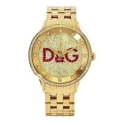 b8d8fc3e07 NEW* DOLCE & Gabbana Mens D&G Prime Time Gold Glitz Watch - Dw0377 ...